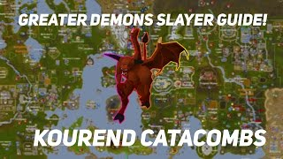OSRS - Greater Demon Slayer Guide In Kourend Catacombs!