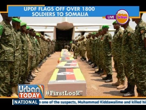 #UrbanToday: UPDF flags off over 1800 soldiers to Somalia [1/4]