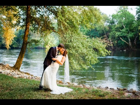 FOREST WEDDING CEREMONY at Hiwassee River Weddings