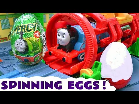 Thomas and Friends Surprise Eggs Toy Trains for kids Tomas y sus amigos Kinder huevos sorpresa TT4U