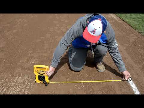 Preparing A Baseball Field For Play
