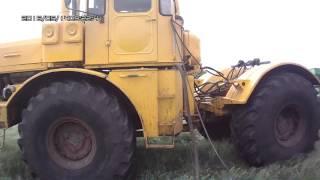 Заправка трактора К-700А в полевых условиях.(, 2016-06-25T20:33:52.000Z)