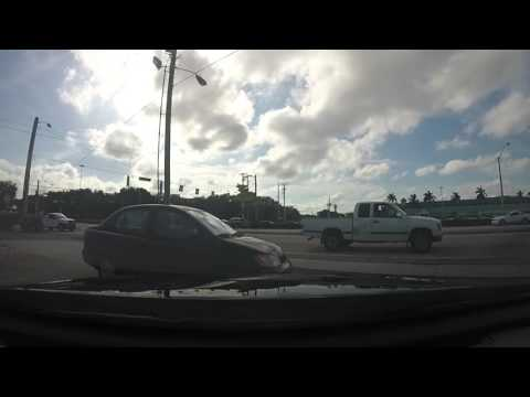 Driving around West Palm Beach Vacation GOPRO