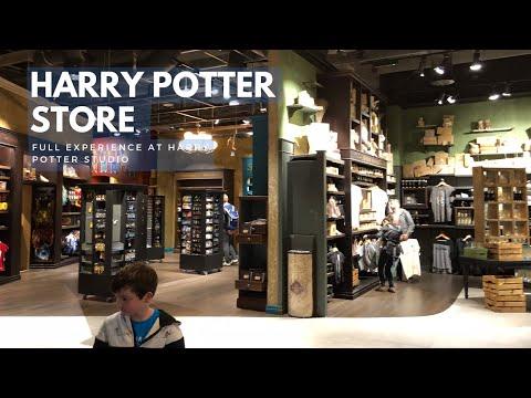 World's LARGEST Harry Potter Store | Harry Potter Studio Tour London