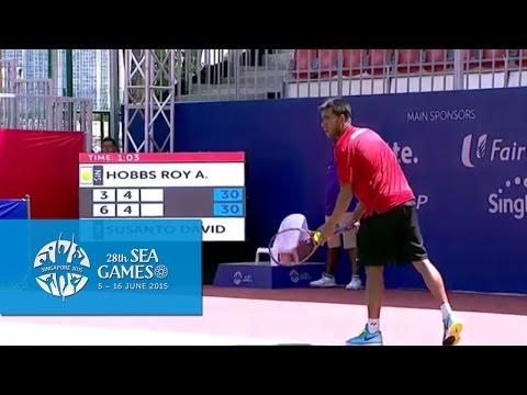 Tennis - Men's Singles Quarter-Final (Day 6) | 28th SEA Game