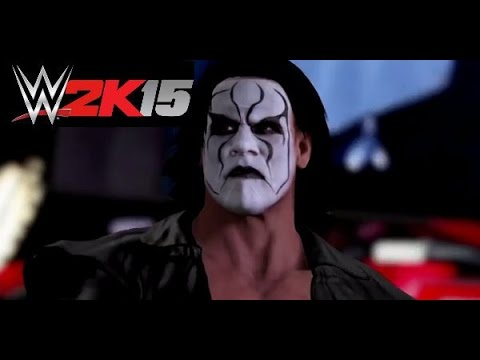 WWE 2k15 Crow Sting Entrance Last Gen (PS3/XBOX360) - YouTube