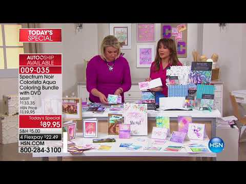 HSN | Paper Crafting Tools & Supplies 08.16.2017 - 01 PM