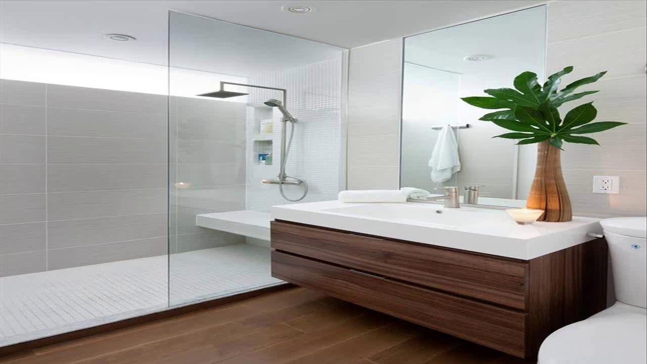 Small Square Bathroom Design Ideas - YouTube