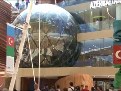 Milan Expo 2015 sərgisində Azərbaycan pavilyonundan reportaj-ATV