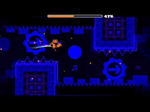 Hypersonic (Updated) by Fusion - Geometry Dash