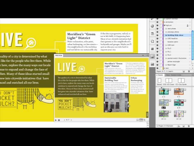 Adobe InDesign CS5: Interactive Documents
