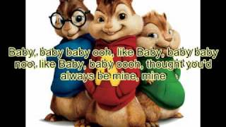 Justin Bieber ft. Ludacris - Baby Chipmunk version (StudioVersion) *with Lyrics* HQ