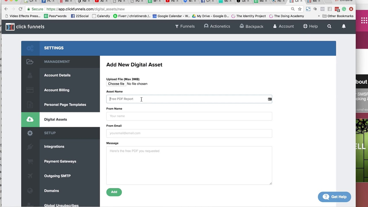 How To Upload Digital Assets To ClickFunnels