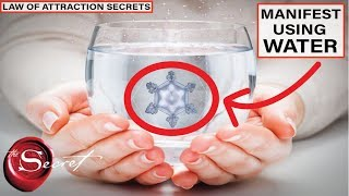 USING WATER to MANIFEST What You Want in Life | The Law of Attraction