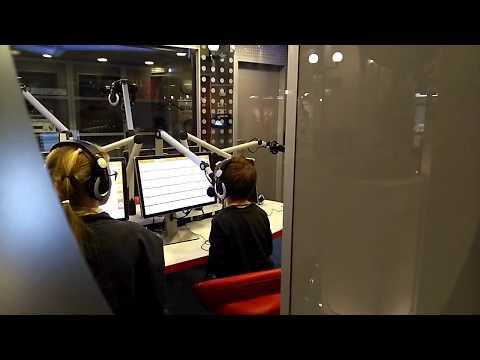 Кидзания Москва. Активность радио. Kidzania Moscow. Radio.