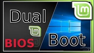 Linux Mint 18.2 neben Windows 10 installieren - Anfänger - [Legacy/BIOS]