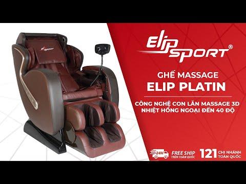 Ghế Massage Toàn Thân ELIP Platin | Lựa Chọn Thư Giãn Hoàn Hảo CHo Gia Đình Bạn