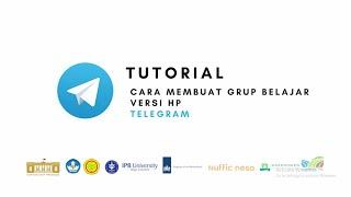 Telegram - Tutorial Cara Membuat Grup Belajar Versi HP