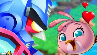 Angry Birds Stella - Angry Birds Transformers Crossover The Eggspark Walkthrough Part 20