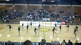 UW-Oshkosh 2012 Pom and Dance team