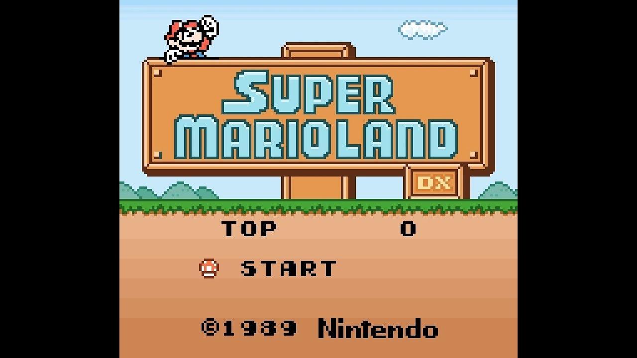 Random: Game Boy Classic Super Mario Land Gets A Fan-Made DX Update