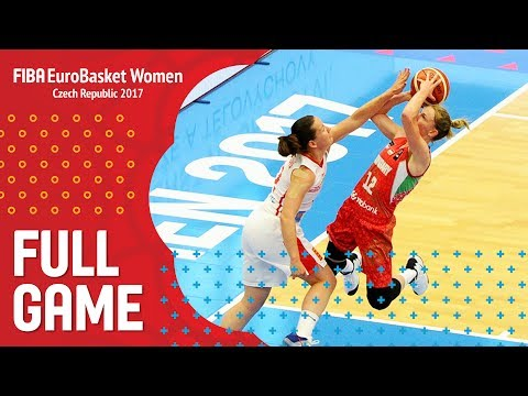 Czech Republic v Hungary - Full Game - FIBA EuroBasket Women 2017