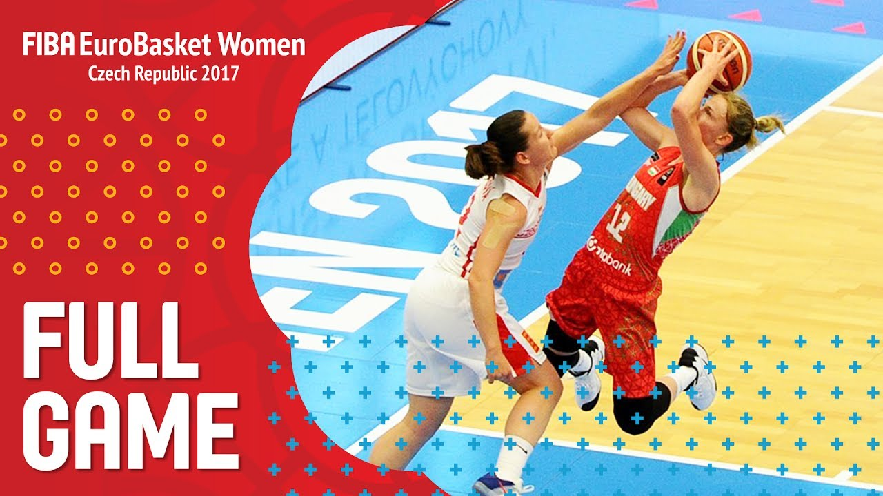 Czech Republic v Hungary - Full Game - FIBA EuroBasket Women 2017