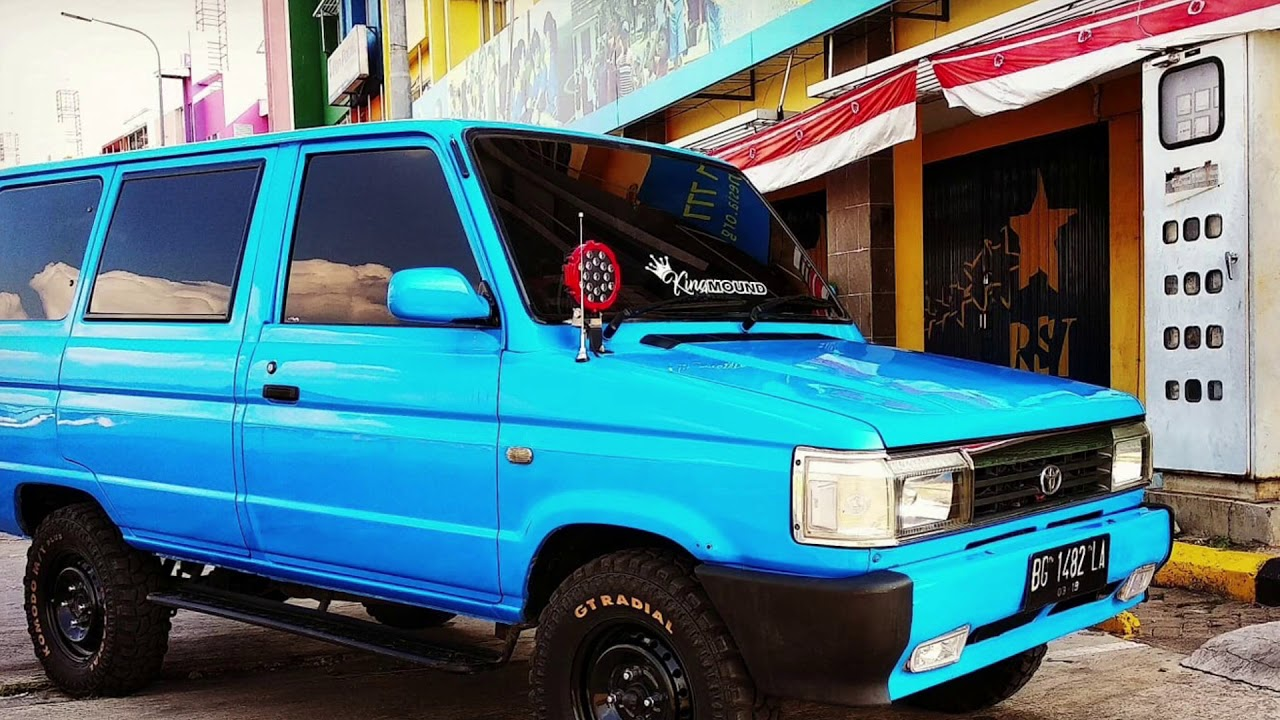 Modifikasi Kijang Super Grand Extra Warna Biru