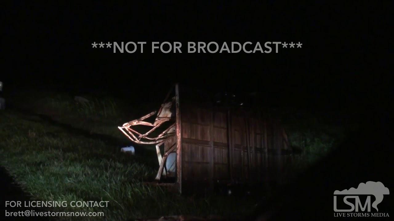 06-15-19 Putnam Oklahoma Tornado Damage