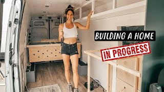 VAN LIFE BUILD: Framing our Off-Grid Tiny House