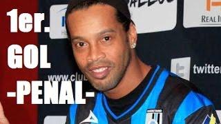 Gol de Ronaldinho Chivas vs Querétaro 0-1 | Gol de Penal de Ronaldinho