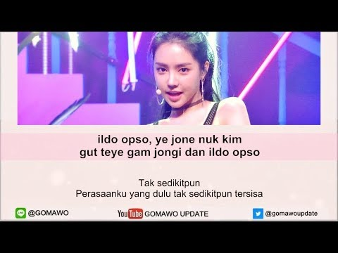 Easy Lyric APINK - I'M SO SICK By GOMAWO [Indo Sub]