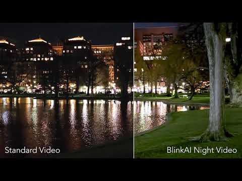 BlinkAI Night Video Demo on Xiaomi Mi 11