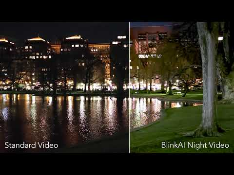 BlinkAI Night Video Demo on Xiaomi Mi 11