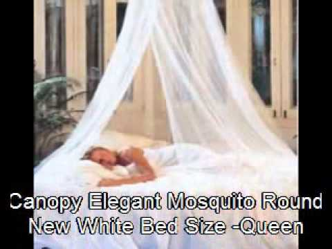 New Elegant Mosquito Round Bad Net PRINCESS GIRLS Bed Size Queen Canopy - YouTube & New Elegant Mosquito Round Bad Net PRINCESS GIRLS Bed Size Queen ...