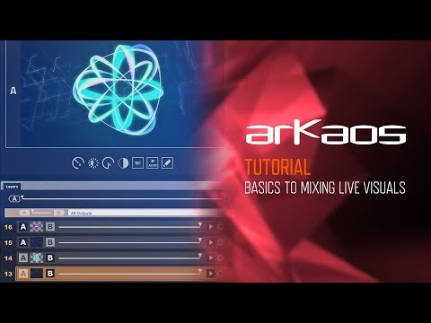 GrandVJ & XT (Tutorial): Basics of Mixing Live Visuals