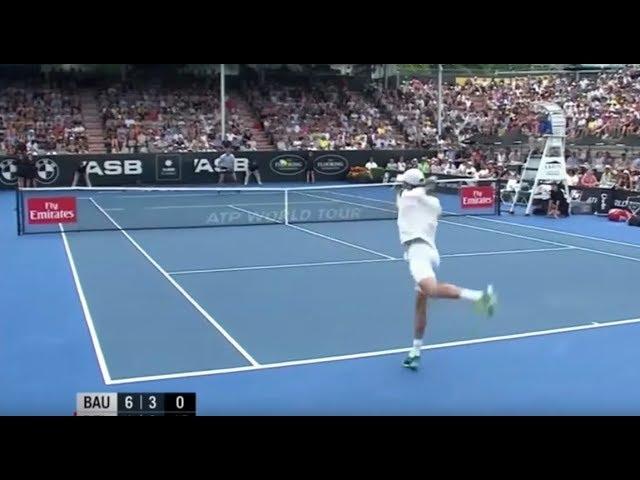 Roberto Bautista Agut vs Juan Martín Del Potro | Final Auckland 2018