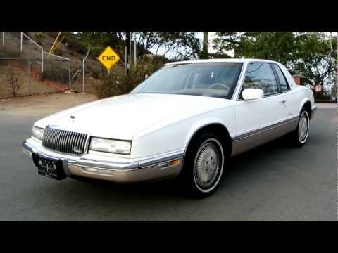 1990 Buick Riviera 1 Owner 72,000 Miles Oldsmobile Toronado Coupe For Sale