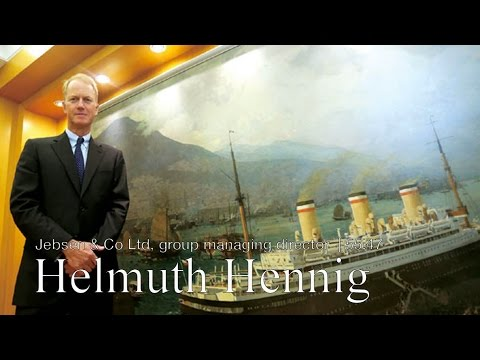 Business leader Helmuth Hennig, group managing director, Jebsen & Co Ltd