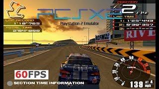 PS2 Ridge Racer V PCSX2 emu on PC 60fps 1440p 16:9 (Namco,2000)