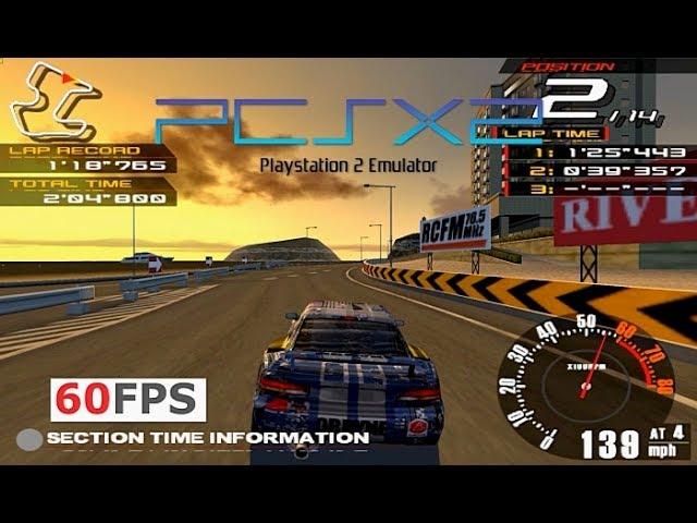 PS2 Ridge Racer V PCSX2 emulator PC 60fps (Namco,2000)