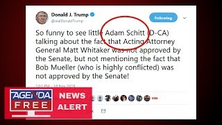 "Trump Calls Adam Schiff ""Adam Schitt"" in Tweet - LIVE COVERAGE"