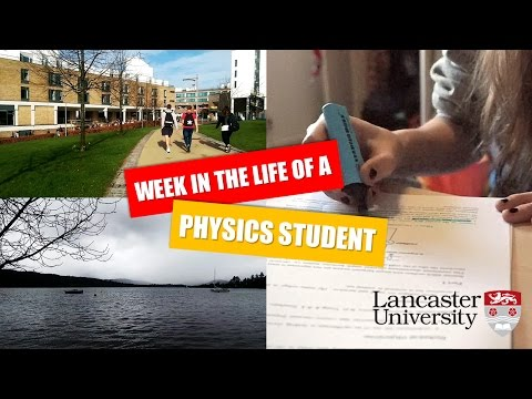 Week in the Life of a Physics Student | Lent Term, First Year (wk9)