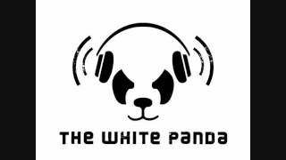 the white panda tipsy in the sun