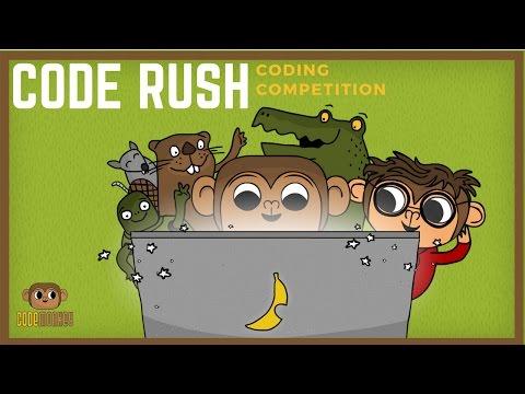 CODE RUSH CODING COMPETITION - CodeMonkey studios