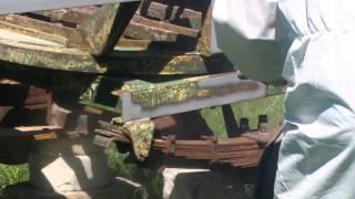 IZOLAMP piaskowanie przyczepy rolniczej Mława