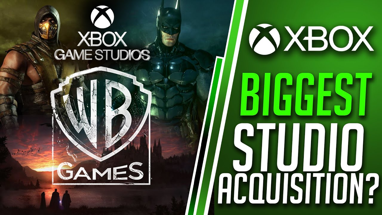 Xbox and WB Games - BIGGEST Xbox Games Studios Acquisition for Xbox Series X?