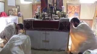 Parohia-Sfanta-Mare-Mucenita-Ecaterina-Constanta-Momentul Epiclezei-14 sept 2014