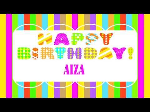 Aiza   Wishes & Mensajes - Happy Birthday