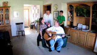 Storey Family Sings Happy Birthday